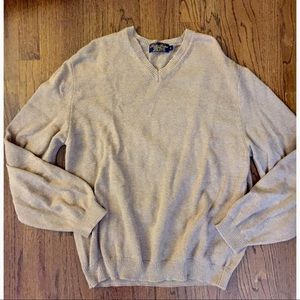 Brooks brothers vneck sweater